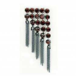 PINS TASSELS WITH SWAROVSKI