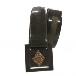 Strass rhombus belt